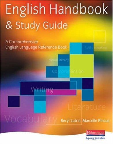 9780435991128: English Handbook and Study Guide: A Comprehensive English Language Reference Book
