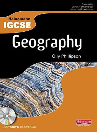 9780435991197: Heinemann IGCSE Geography Student Book with Exam Cafe CD