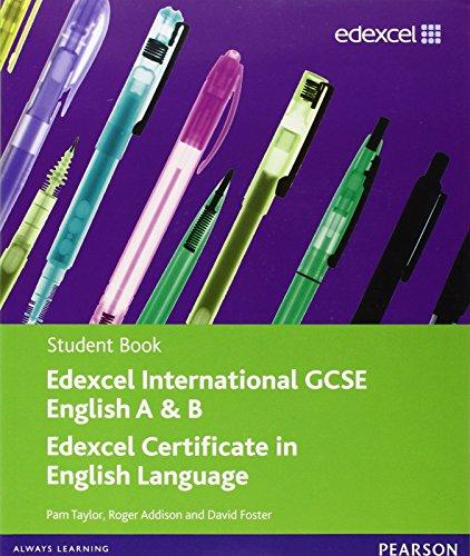Edexcel International GCSE English A & B: Taylor, Pam