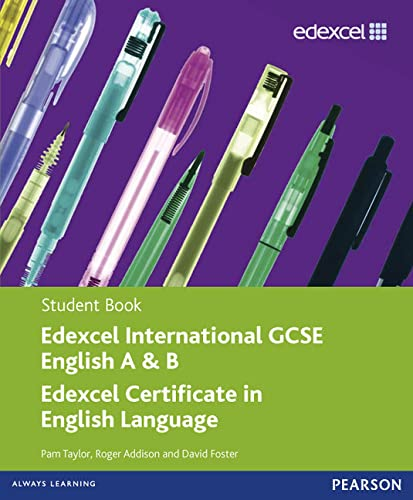 9780435991265: Edexcel Igcse English for Specifications A and B. Student Book (Edexcel International GCSE)