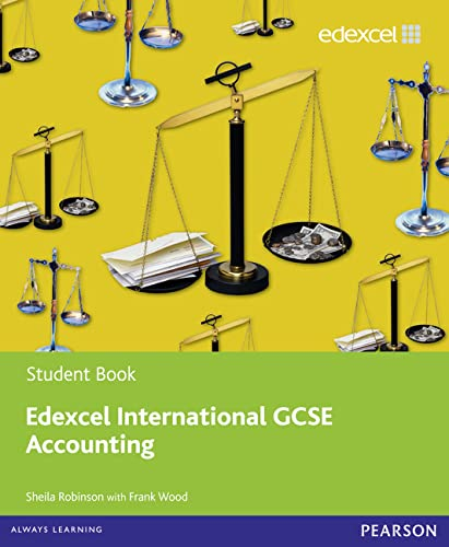 9780435991296: Edexcel International GCSE Accounting Student Book with ActiveBook CD