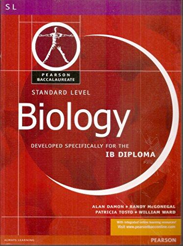 9780435994396: BIOLOGY-STANDARD LEVEL-PEARSON BACCAULARETE FOR IB DIPLOMA PROGRAMS (Pearson International Baccalaureate Diploma: International E)