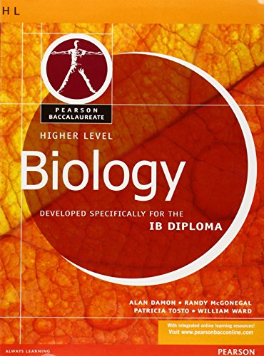 9780435994457: Biology-Higher Level-Pearson Baccaularete for Ib Diploma Programs