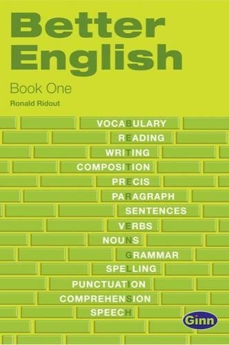 9780435996772: BETTER ENGLISH BOOK ONE