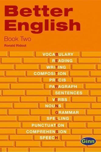 9780435996789: Better English Book Two (Ginn Better English)