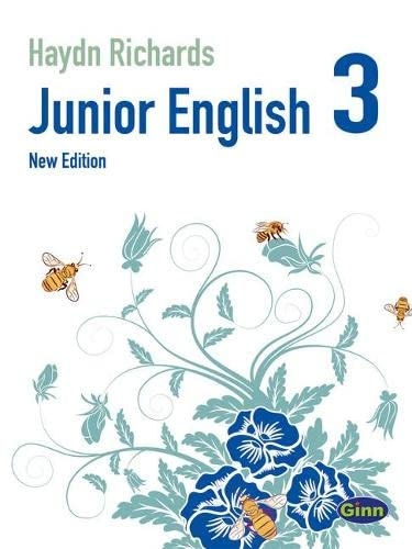 9780435996840: Junior English Book 3 (International) 2ed Edition - Haydn Richards (Junior English International New Edition)
