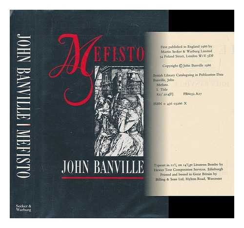 Mefisto [SIGNED BRITISH 1ST/1ST]: John Banville