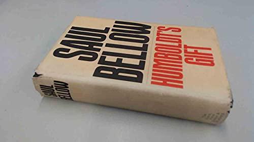 Humboldt's Gift (An Alison Press book): Saul Bellow