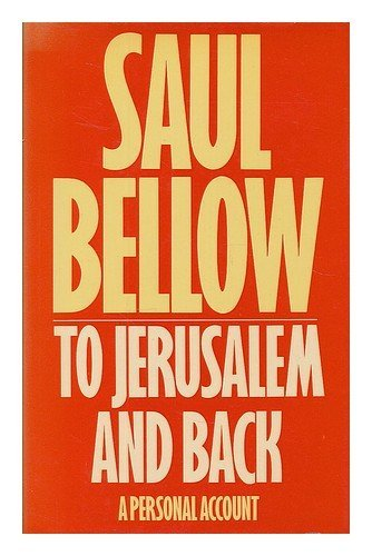 9780436039515: To Jerusalem and Back: A Personal Account