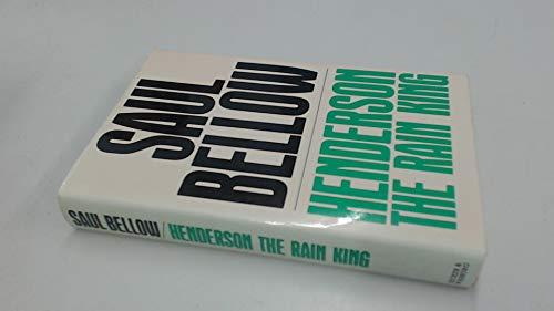 9780436039553: Henderson the Rain King (Alison Press Books)