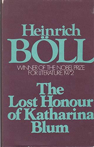 9780436054525: Lost Honour of Katharina Blum