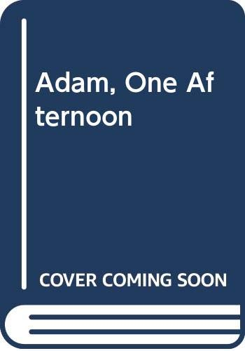9780436082733: Adam, One Afternoon