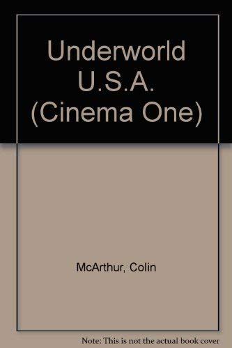 9780436098857: Underworld U.S.A. (Cinema One)