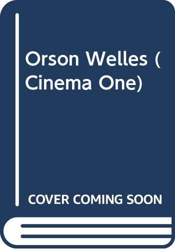 9780436099267: Orson Welles (Cinema One)