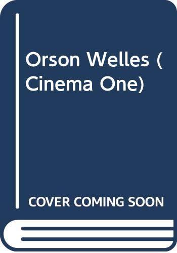 9780436099267: Orson Welles (Cinema One)