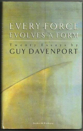 9780436124020: Every Force Evolves a Form: Twenty Essays