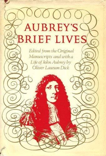 Brief Lives: Aubrey, John