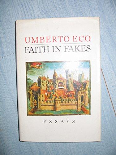 9780436140884: Faith in Fakes: Essays