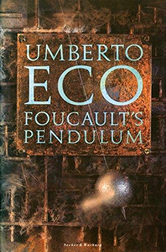 Foucault's Pendulum: Eco, Umberto; Weaver, W.