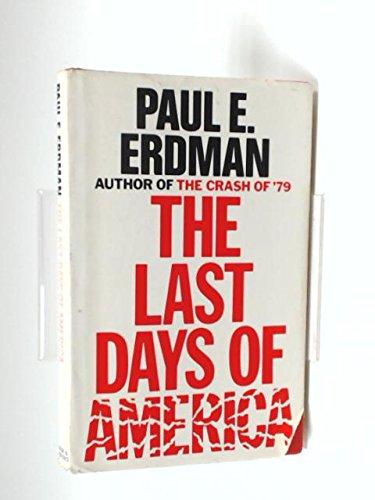 9780436148316: the last days of america