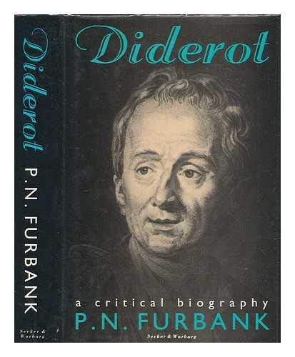 9780436168536: Diderot: A Critical Biography