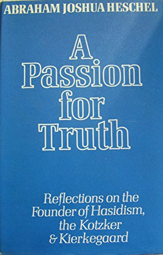 9780436193156: A Passion For Truth