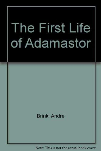 9780436201196: The First Life of Adamastor