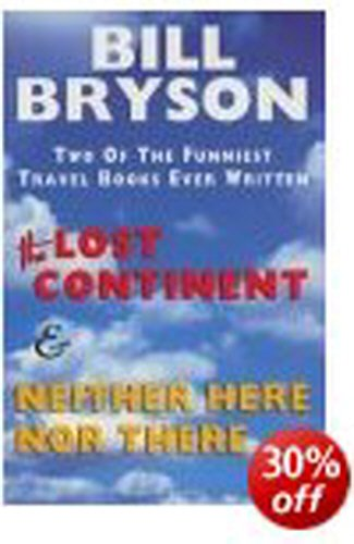 9780436201301: THE LOST CONTINENT: TRAVELS IN SMALL TOWN AMERICA AND NEITHER HERE NOR THERE