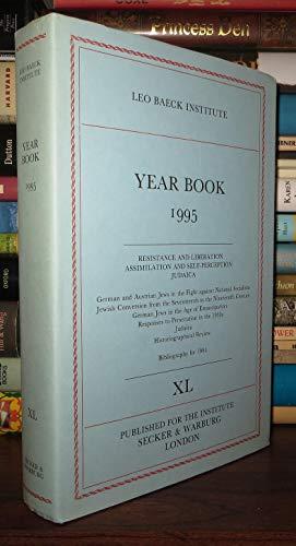 Leo Baeck Institute Year Book: v. 40 (Leo Baeck Institute Yearbooks): Martin Secker & Warburg Ltd