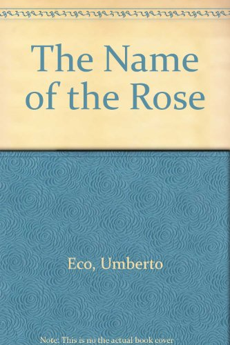 9780436204227: The Name of the Rose