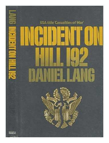 9780436242014: Incident on Hill 192