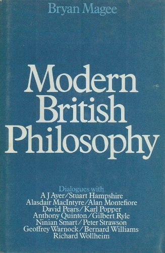 9780436271038: Modern British Philosophy