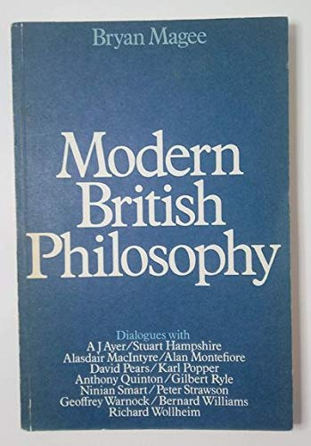 9780436271045: Modern British Philosophy