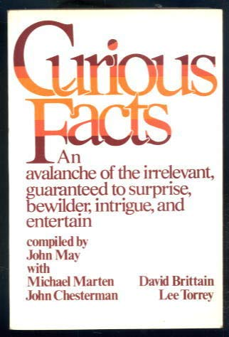 9780436274398: Curious Facts