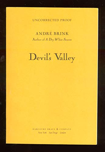 9780436275036: The Devil's Valley