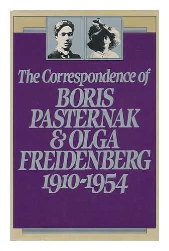 9780436288555: The Correspondence of Boris Pasternak & Olga Freidenberg 1910-1954