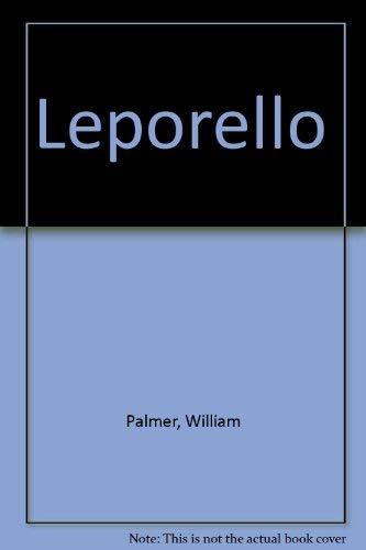 Leporello: William Palmer