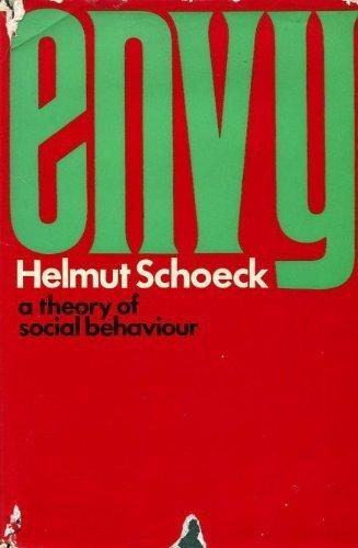 9780436443800: Envy: A Theory of Social Behaviour