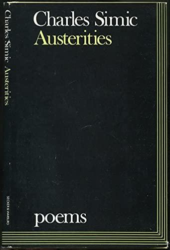 9780436464867: Austerities