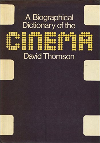 9780436520105: Biographical Dictionary of the Cinema