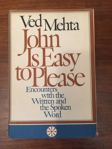 9780436552809: John is Easy to Please: Encounters with the Written and the Spoken Word