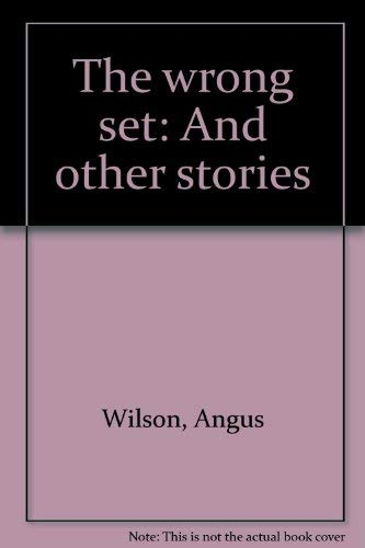 9780436578007: The wrong set: And other stories