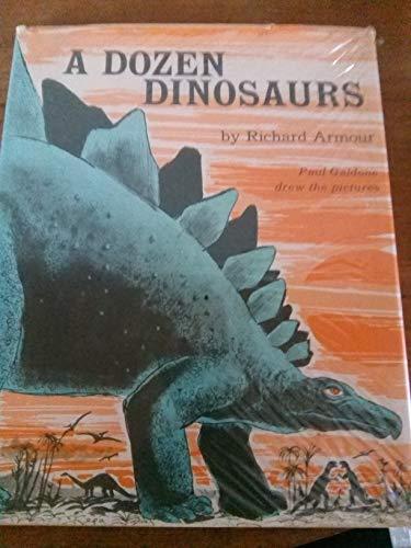 9780437240019: A Dozen Dinosaurs