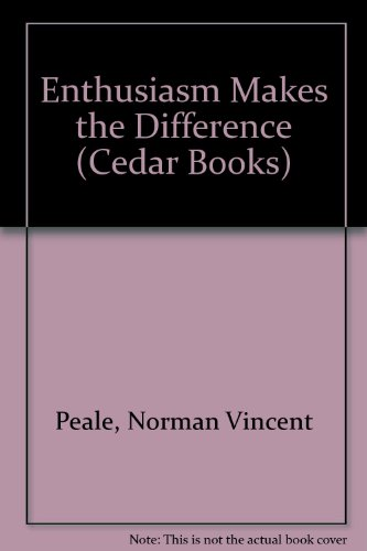 9780437951519: Enthusiasm Makes the Difference (Cedar Books)