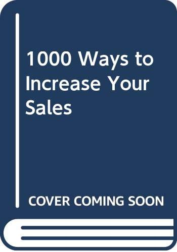 9780437951588: 1000 Ways to Increase Your Sales (Cedar Books)