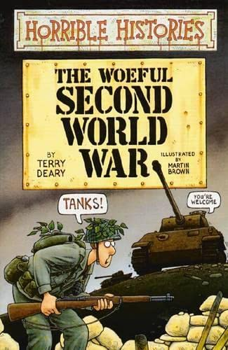 9780439011228: Woeful Second World War (Horrible Histories)
