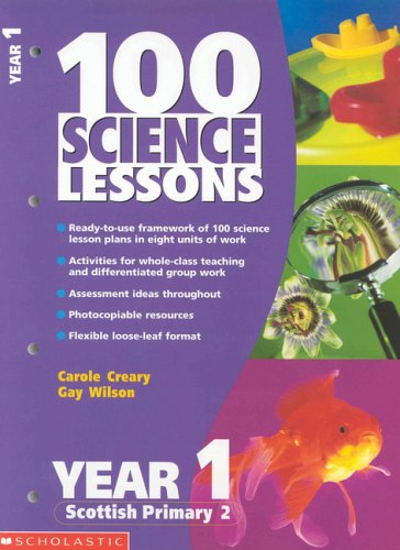 9780439018029: 100 Science Lessons for Year 1 (100 Science Lessons)