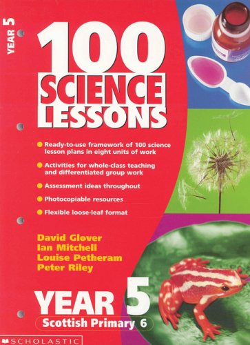 9780439018067: 100 Science Lessons for Year 5