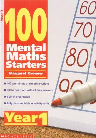 9780439019002: 100 Mental Maths Starters Year 1: Year 1