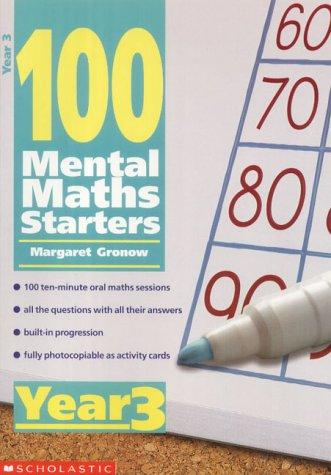 9780439019026: 100 Mental Maths Starters Year 3: Year 3